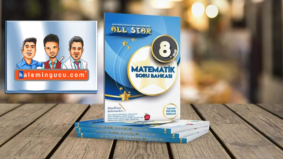 Allstar 8. Sınıf Matematik Soru Bankası